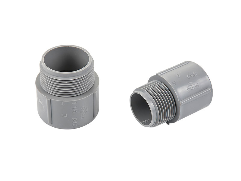 Promotional PVC Terminal Male Adapter