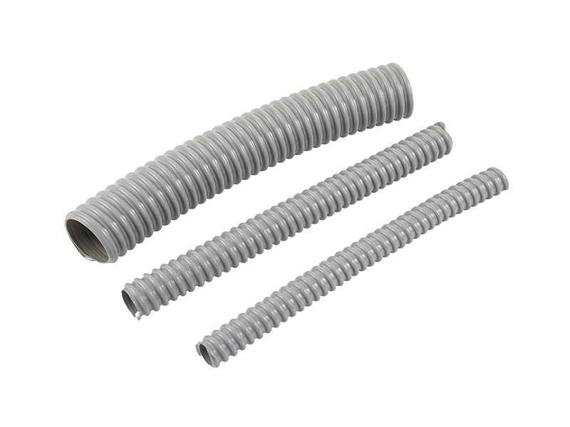 Gray PVC Coated Steel Flexible Conduit